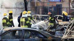 FOTOS: Explosão próxima a shopping mata mais de 20 na