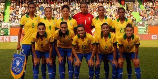 Seleção feminina do Brasil repete goleada da copa do mundo em jogo com