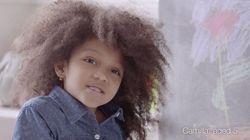 Ela tem 5 anos e quer que você ame seus cachos - do jeito que eles