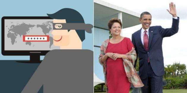 Alvo de espionagem dos EUA, Brasil é elogiado pela OEA, que prevê um ano de 'roubo de dados' no setor...