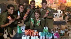 Soldados de Israel posam com presentes da Garnier e provocam
