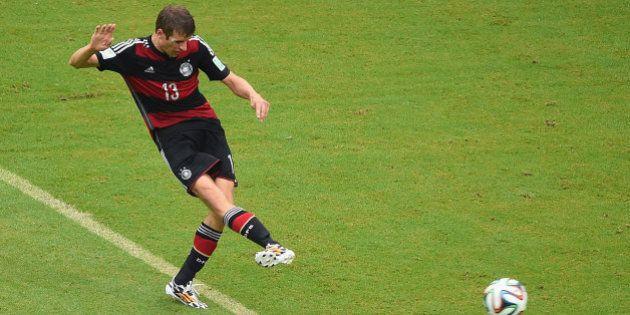 Alemanha x EUA: Müller faz seu quarto gol na Copa e garante o primeiro lugar para os