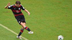 Alemanha volta a vencer na Copa com gol de Thomas