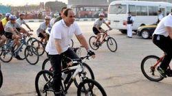 O presidente do Egito também enxergou o óbvio: bicicletas podem gerar