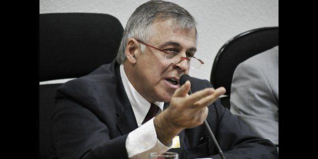 O ex-diretor de Abastecimento da Petrobras, Paulo Roberto da Costa, presta depoimento à Comissão Parlamentar...