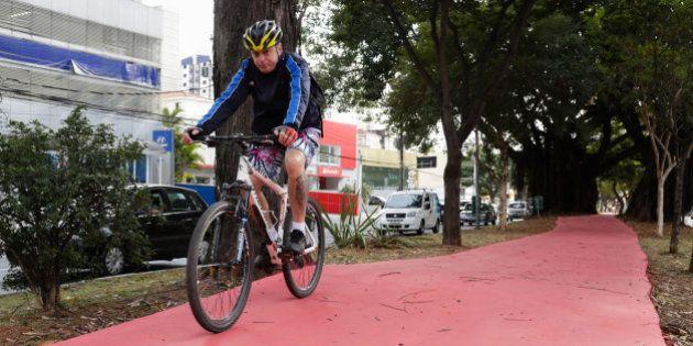 Haddad cria 4,8 km de ciclovias em dois