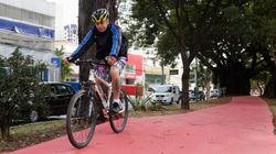 Prefeitura entrega 4,8 km de ciclovias em São