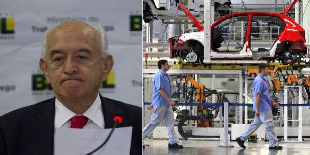 Ministro do Trabalho prevê demissões este ano em 'alguns setores' e cita a indústria como exemplo de...