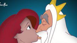Uma triste adaptação das princesas Disney que você precisa
