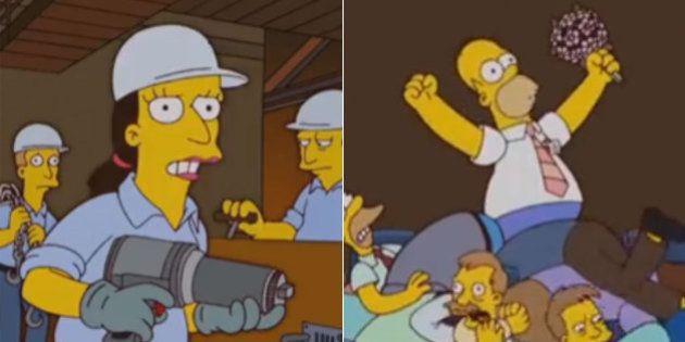 Episódio dos Simpsons explica ao mundo o que significa apoiar a terceirização do trabalho