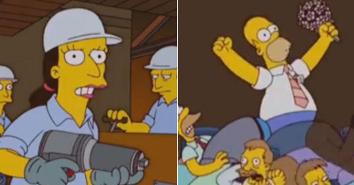 9969f9d680 Episódio dos Simpsons explica ao mundo o que significa apoiar a  terceirização do trabalho (VÍDEO)   HuffPost Brasil