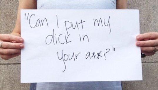 O que os homens dizem para as mulheres nas