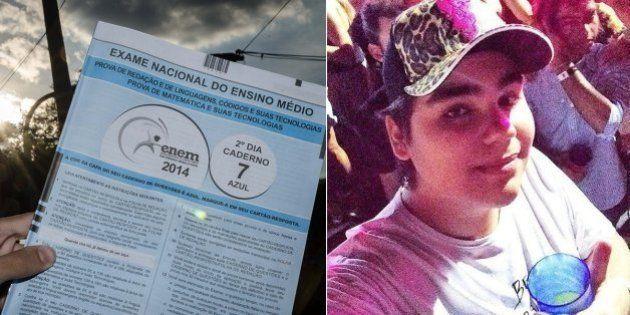 Polícia Federal investiga denúncia de vazamento de redação do Enem no dia da prova, feita por universitário...