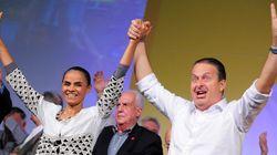 Em harmonia: Eduardo Campos e Marina Silva oficializam terceira via nas
