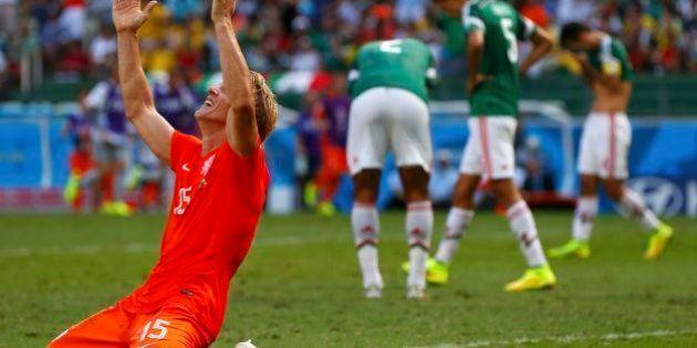 Holanda x México: em partida emocionante, holandeses batem mexicanos pelo placar de 2x1 no
