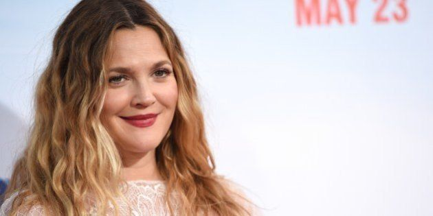 Actress Drew Barrymore arrives for the red carpet premiere of 'Blended,' May 21, 2014 at TCL Chinese...