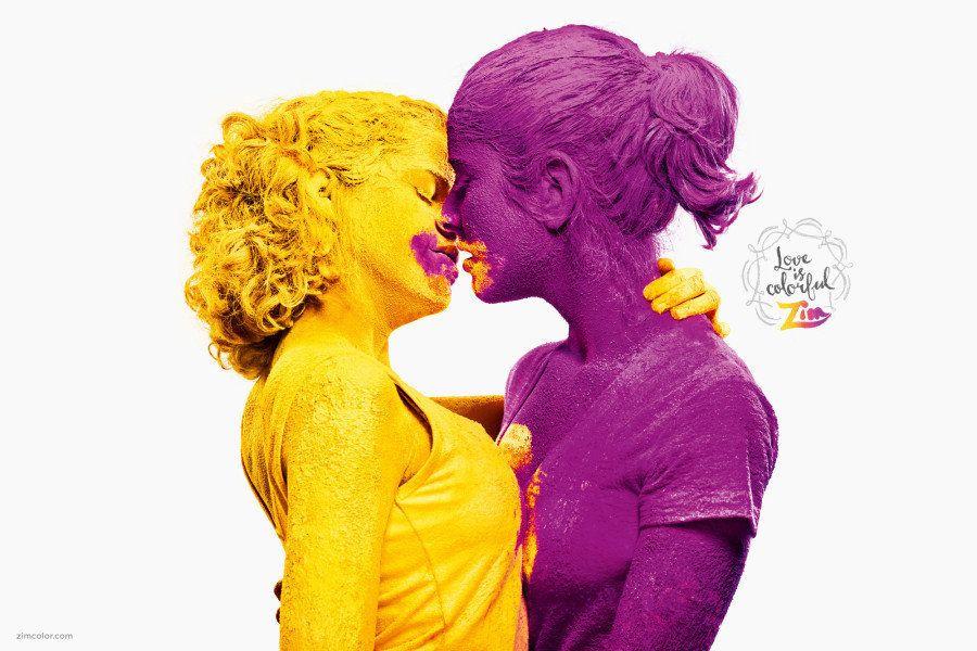 Anúncios deslumbrantes mostram que amor é amor, não importa quem você seja ou sua aparência