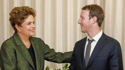 Dilma Rousseff e Facebook anunciam parceria de internet grátis para baixa
