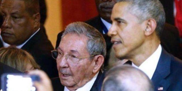 Barack Obama se encontra com Raúl Castro na Cúpula das