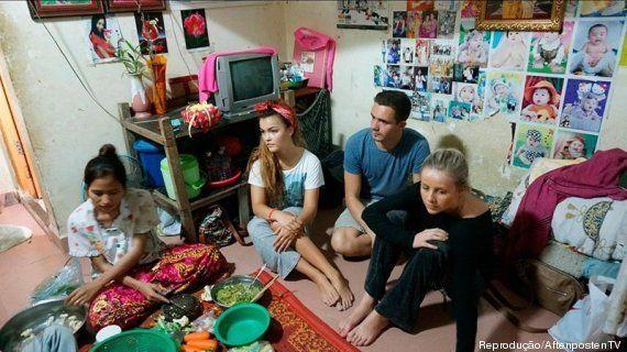 Reality show da Noruega envia fashionistas para trabalhar em fábrica têxtil no Camboja. E o resultado...