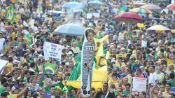 Mais de 673 mil brasileiros foram às ruas protestar contra o governo e corrupção neste