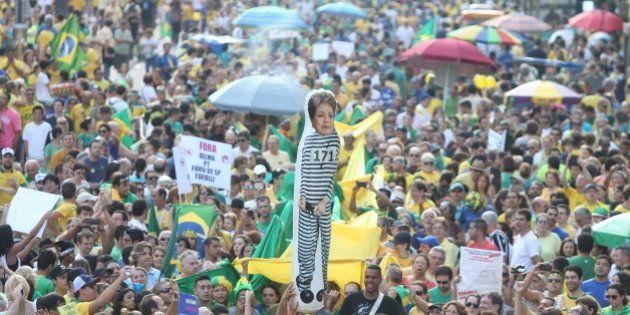 Protestos contra governo e corrupção reúnem cerca de 673 mil brasileiros em 24 estados e no