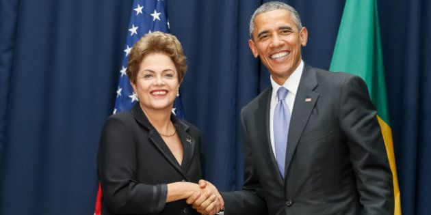 Cidade do Panamá - Panamá, 11/04/2015. Presidenta Dilma Rousseff durante encontro bilateral com o Presidente...