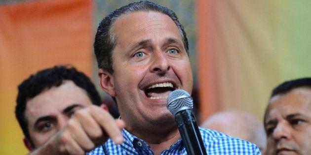 RIO DE JANEIRO, BRAZIL - JULY 13: Governor of Pernambuco and national PSB President, Eduardo Campos,...