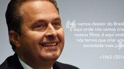Morte de Eduardo Campos: 10 frases marcantes do líder