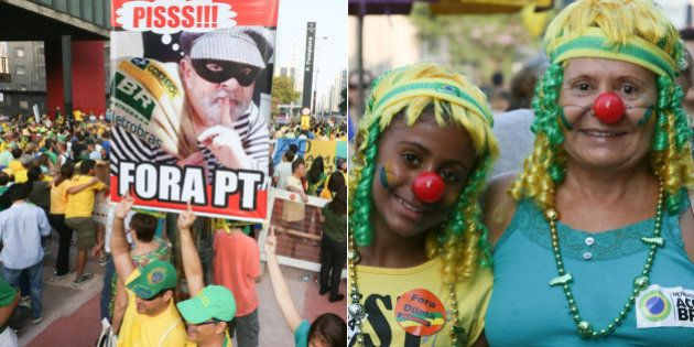 Eleitorado mais velho e que votou em Aécio Neves em 2014 foi às ruas no domingo contra a corrupção