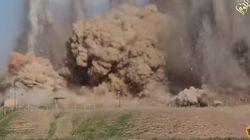 ASSISTA: Estado Islâmico divulga vídeo destruindo cidade
