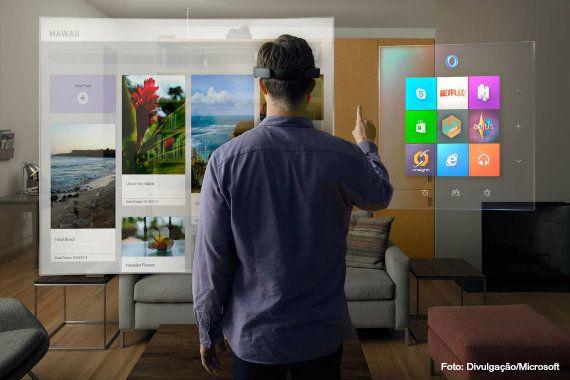 Híbrido de Glass e Oculus Rift, HoloLens pode salvar