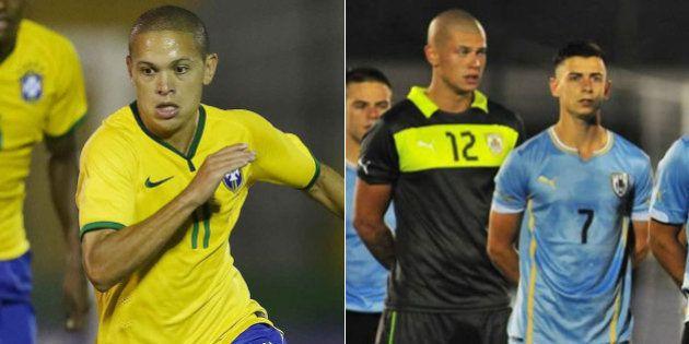 Meia da seleção brasileira Sub-20 acusa uruguaio de racismo e Gallo pede punição
