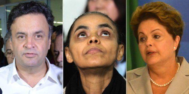Datafolha inclui Marina Silva como candidata à Presidência no lugar de Eduardo Campos em pesquisa que...