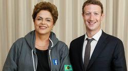 Acordo Dilma-Zuckerberg concentra o tráfego da rede e pode violar Marco