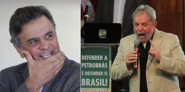 Datafolha: Aécio e Lula estão empatados tecnicamente em sondagem eleitoral para