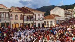 Foliões na seca: Carnaval de Ouro Preto terá água dia sim, dia