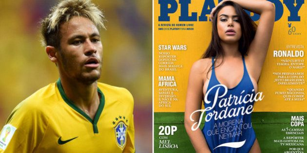 Neymar tenta censurar na Justiça Playboy com suposta ex na capa, mas revista continua à
