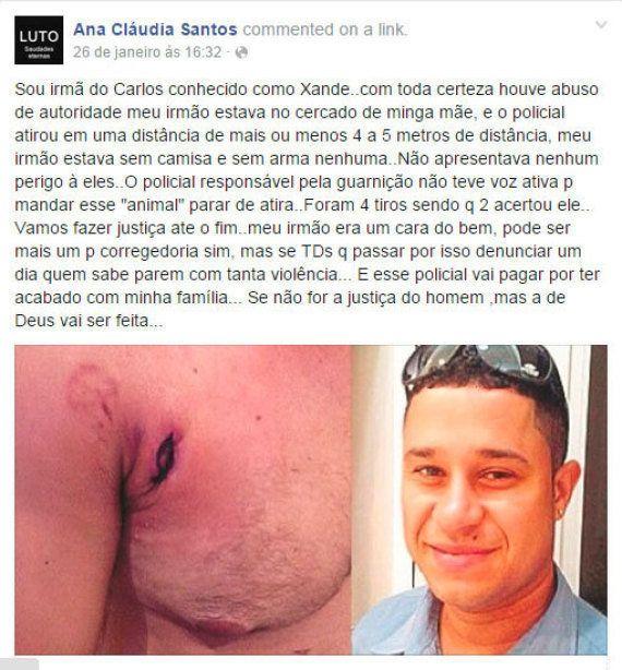 Bala de borracha atirada por PM causa infecção e morte de motorista de ônibus em Biguaçu, na Grande