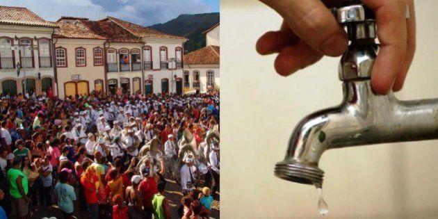 Falta de água em Minas Gerais força 15 cidades a cancelarem o Carnaval; Ouro Preto e Mariana adotam