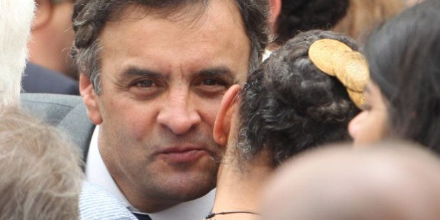 Aécio Neves diz que via um projeto de novo Brasil com ele e Eduardo