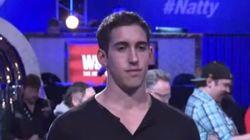 Ele ganhou 15 milhões em uma partida de pôquer e reagiu...