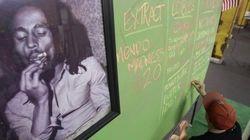 Bob Marley vai virar maconha de