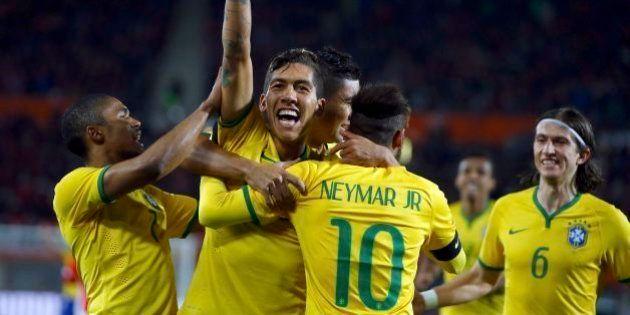 Roberto Firmino decide e Brasil fecha ano com 6ª vitória