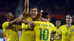 Gol de estreante faz Brasil vencer a 6ª seguida com Dunga no