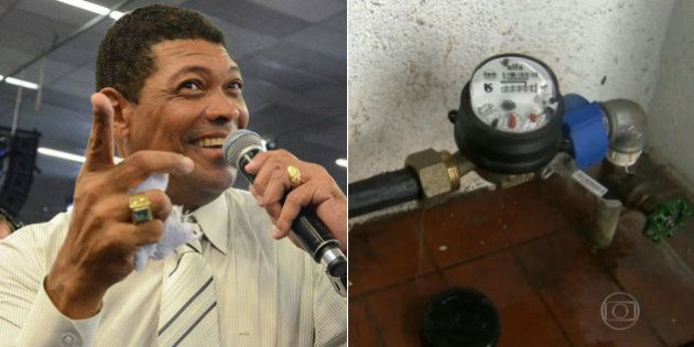 Gráfica do pastor Valdemiro Santiago, líder da Igreja Mundial, desviava 400 mil litros de água por mês...