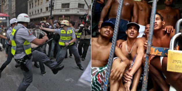 Número de mortes atribuídas às polícias de São Paulo e Rio de Janeiro subiu drasticamente em 2014, aponta...