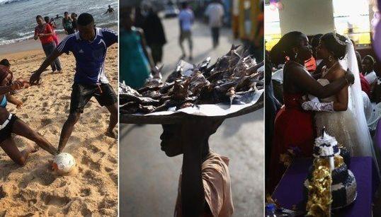 FOTOS: Ebola começa a retroceder e vida volta ao normal em países afetados pelo