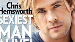 Chris Hemsworth é eleito o homem mais sexy pela