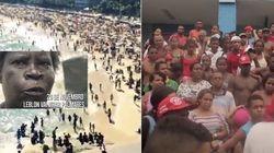 O Leblon é nosso: MTST 'invade' a praia de Ipanema neste Dia da Consciência